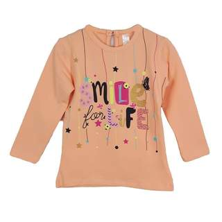 BLUZA fete ml SMILE PEACH